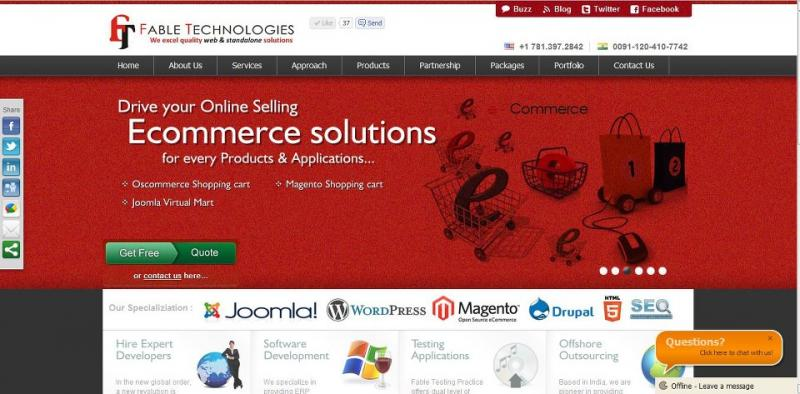 E commerce company in US