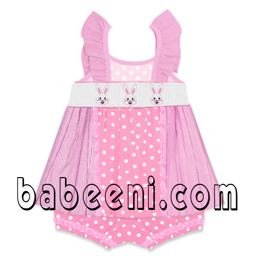 Children smocked dress