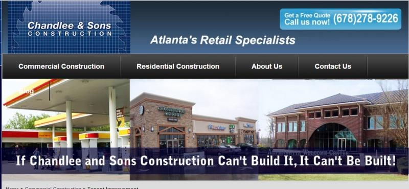 Identify vital information on tenant finish in Alpharetta