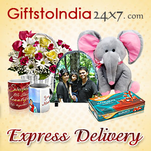 Send online gifts through Express Delivery