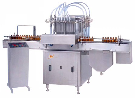 Automatic liquid Filling Machines, automatic liquid syrup filling machine, liquid syrup packaging machines, automatic liquid bottle filling machine, automatic liquid oral filling line