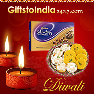 Send gifts on Diwali