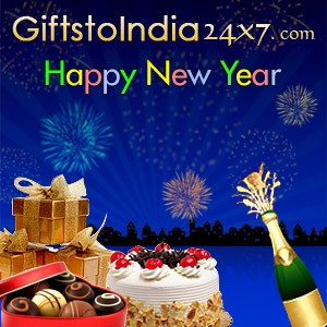 Send gifts on New Year to India