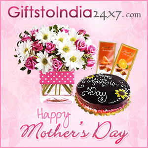 Send gifts on Mother's Day in India