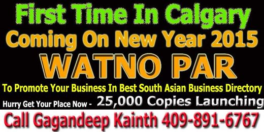 Welcome To WatnoPar.com Punjabi Directory For Listing of Indian, Pakistani
