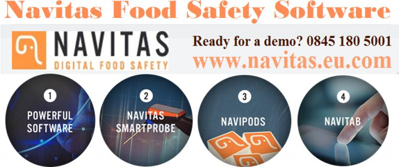 Navitas - Food Safety Management System with Online Temperature Monitoring