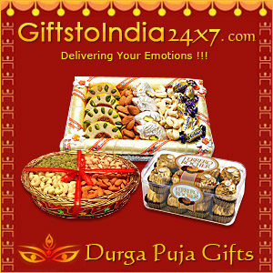 Make Durga Puja Auspicious With Gifts to India