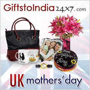 Send Gifts on UK Mother's Day