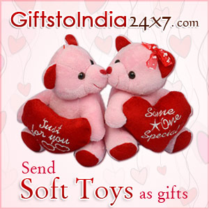 Send Soft Toys as Gifts