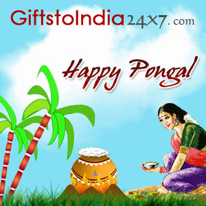 Send gifts on Pongal to Delhi